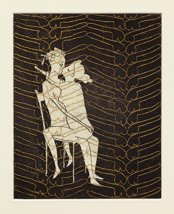 Union, 36 x 29 cm, Etching, 2014