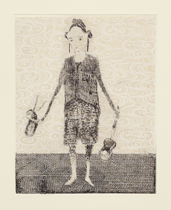 Early Education, 36 x 29 cm, Etching, 2014
