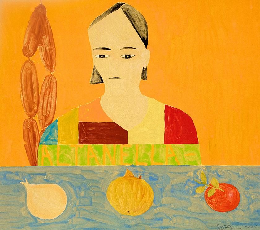 Altanella, 35 x 40 cm, Monotype, 2005