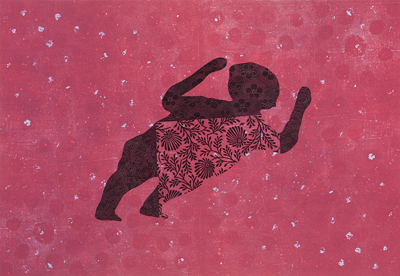 Big Baby, 64 x 90 cm, Lithograph, 2007