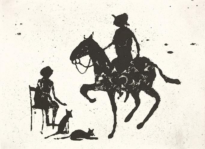 9/18, 41 x 51 cm, Etching, 2009