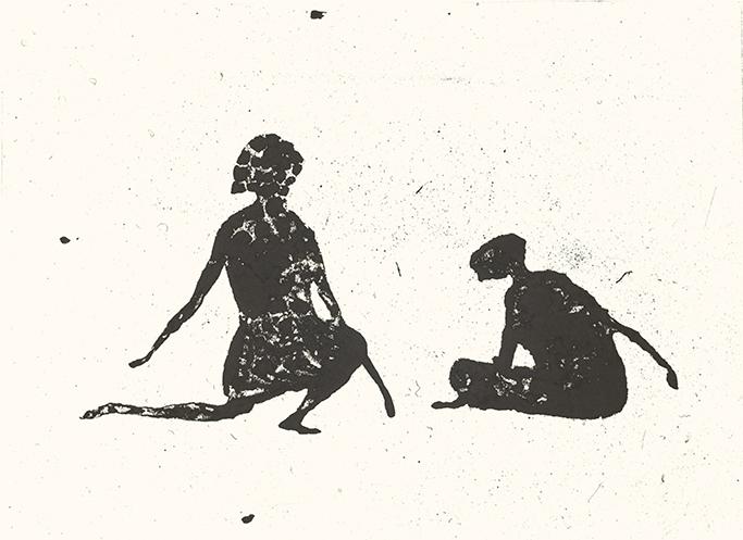 18/18, 41 x 51 cm, Etching, 2009