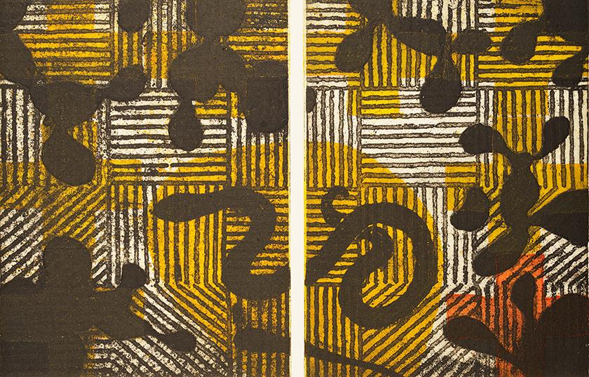 Snake, 61 x 45 cm, Etching, 1995